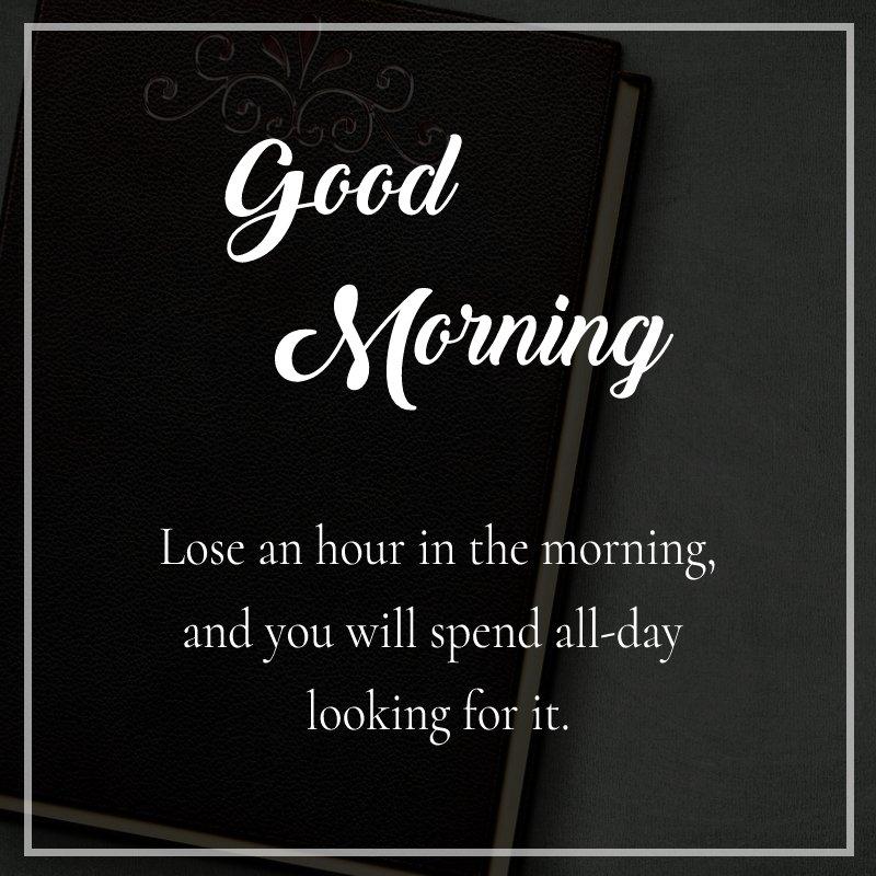 Amazing good morning status
