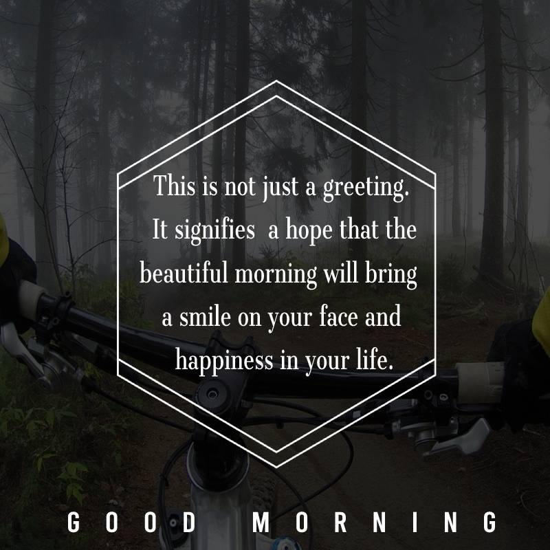 Best good morning status