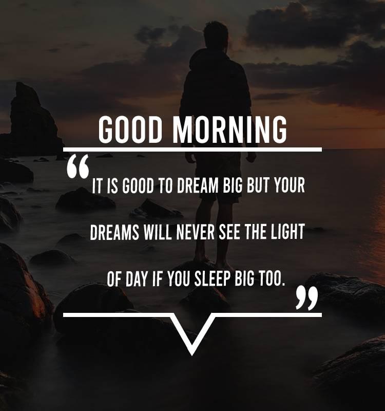 Short good morning status