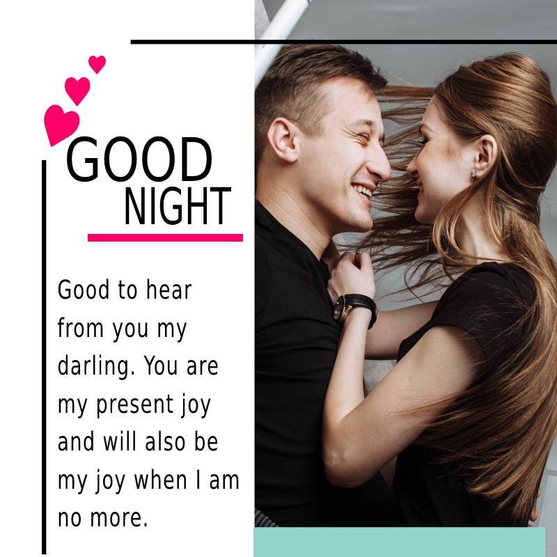 Heart Touching good night messages for girlfriend