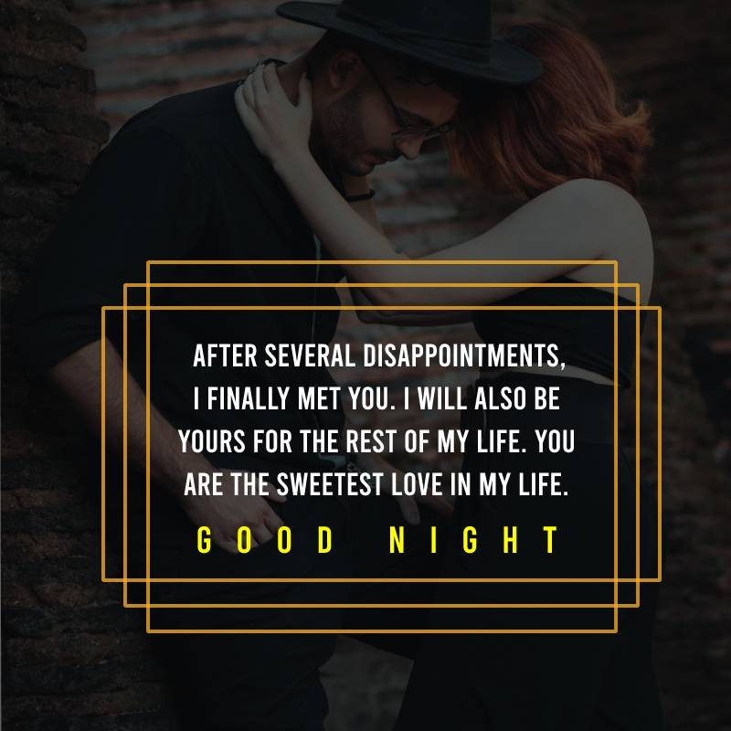 meaningful good night messages for girlfriend