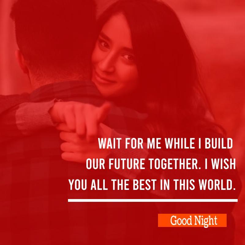 Deep good night messages for girlfriend