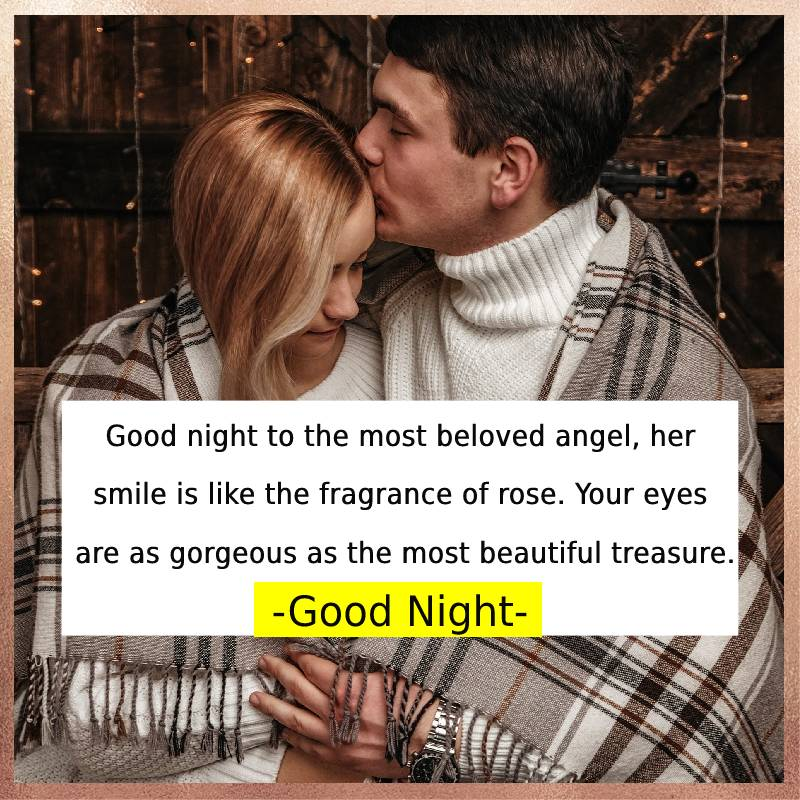 Touching good night messages for girlfriend