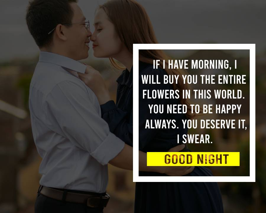 Sweet good night messages for girlfriend