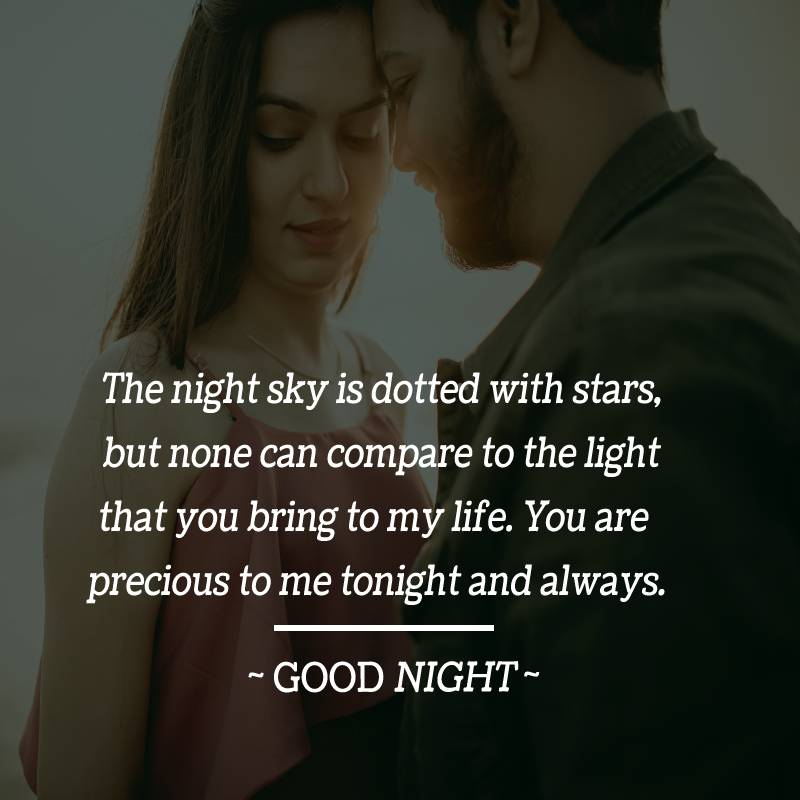 meaningful good night messages for boyfriend