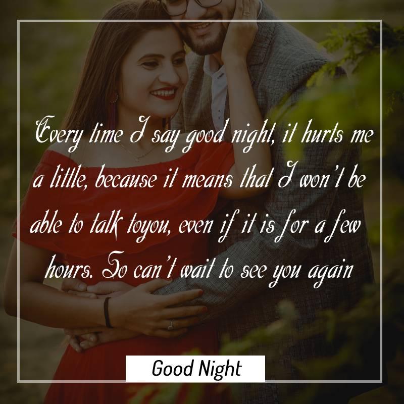 Sweet good night messages for boyfriend