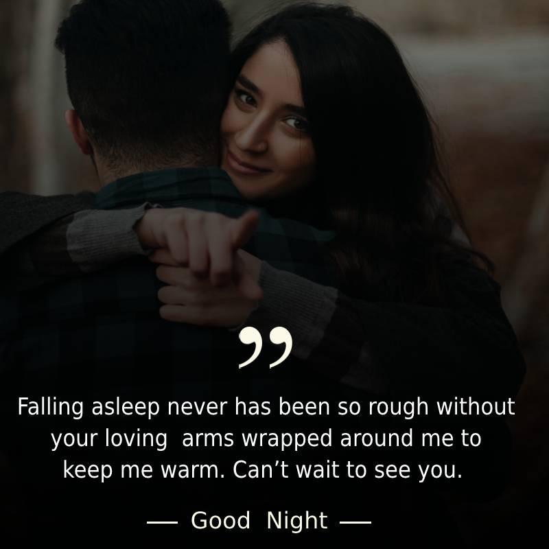 Short good night messages for boyfriend