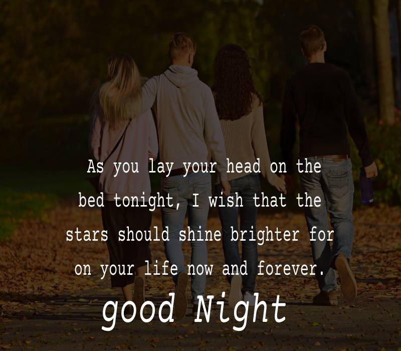 Sweet good night messages for friends