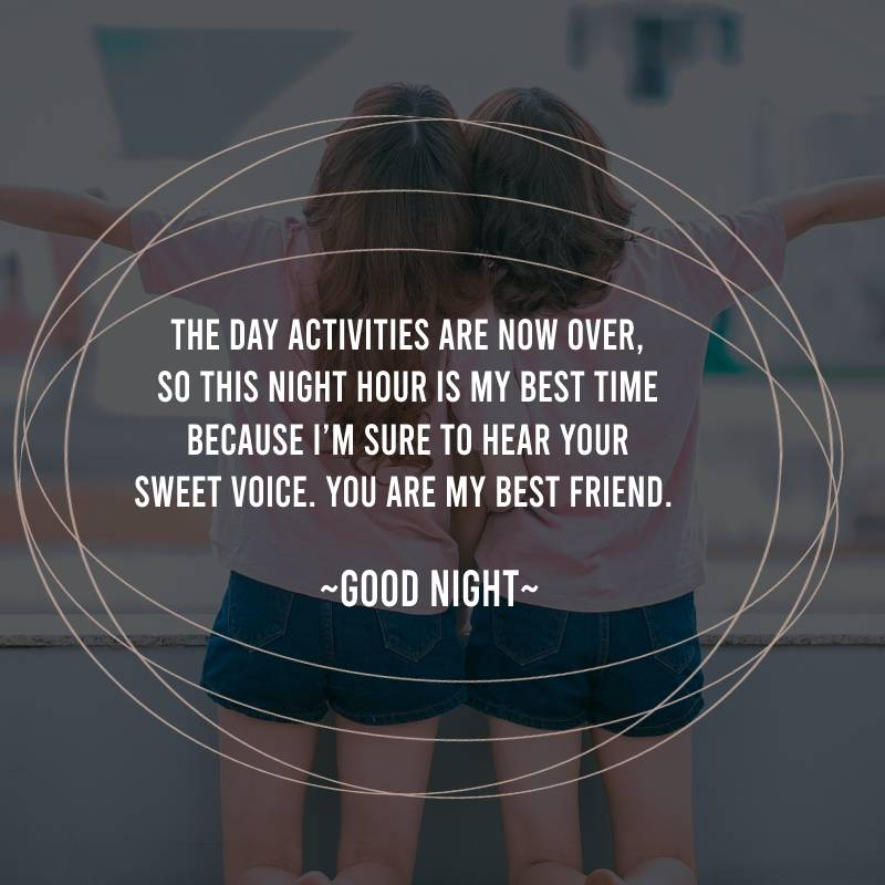 Best good night messages for friends