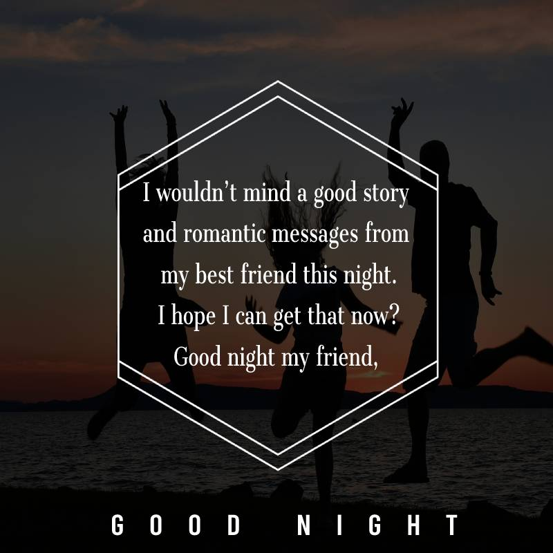Short good night messages for friends