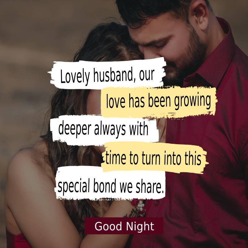 Amazing good night messages for husband