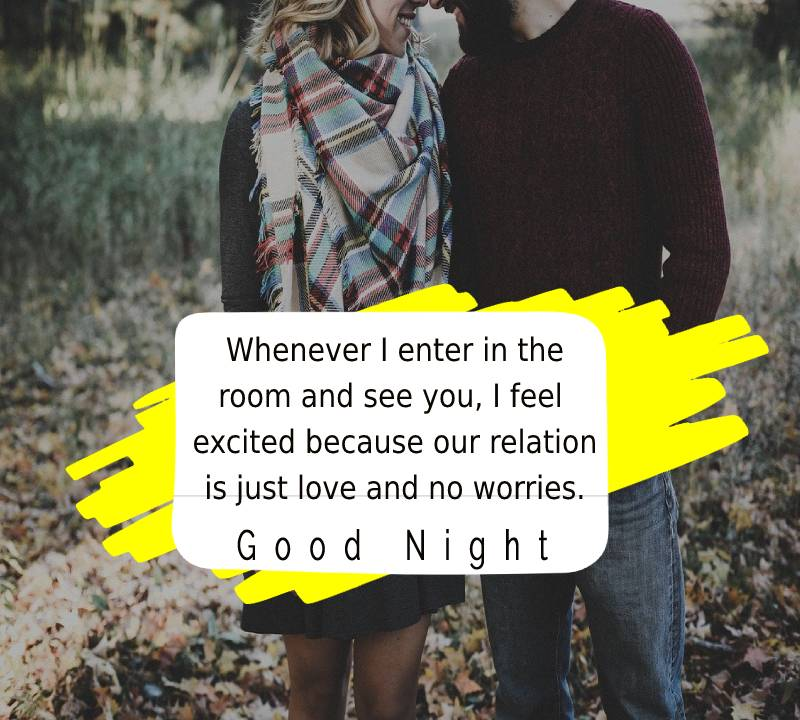 Simple good night messages for husband