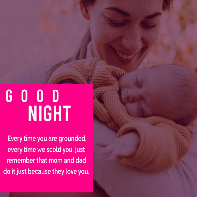 Touching good night messages for son