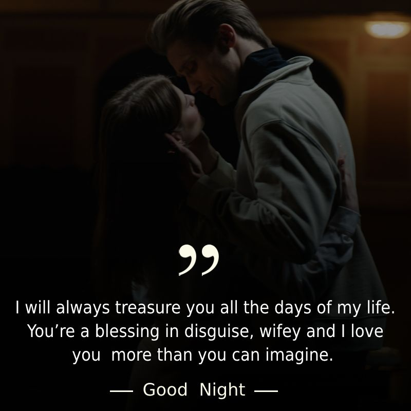 Heart Touching good night messages for wife