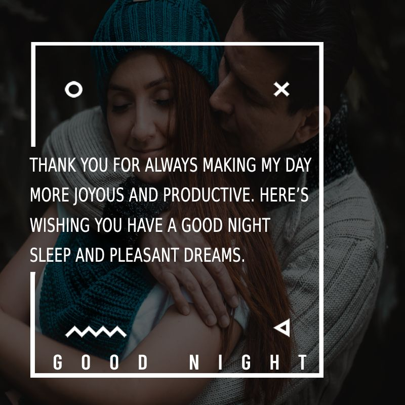 Deep good night messages for wife