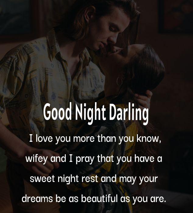 Unique good night messages for wife