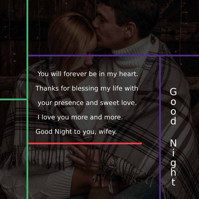 Short good night messages for wife