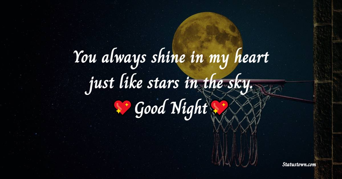 Heart Touching good night love messages