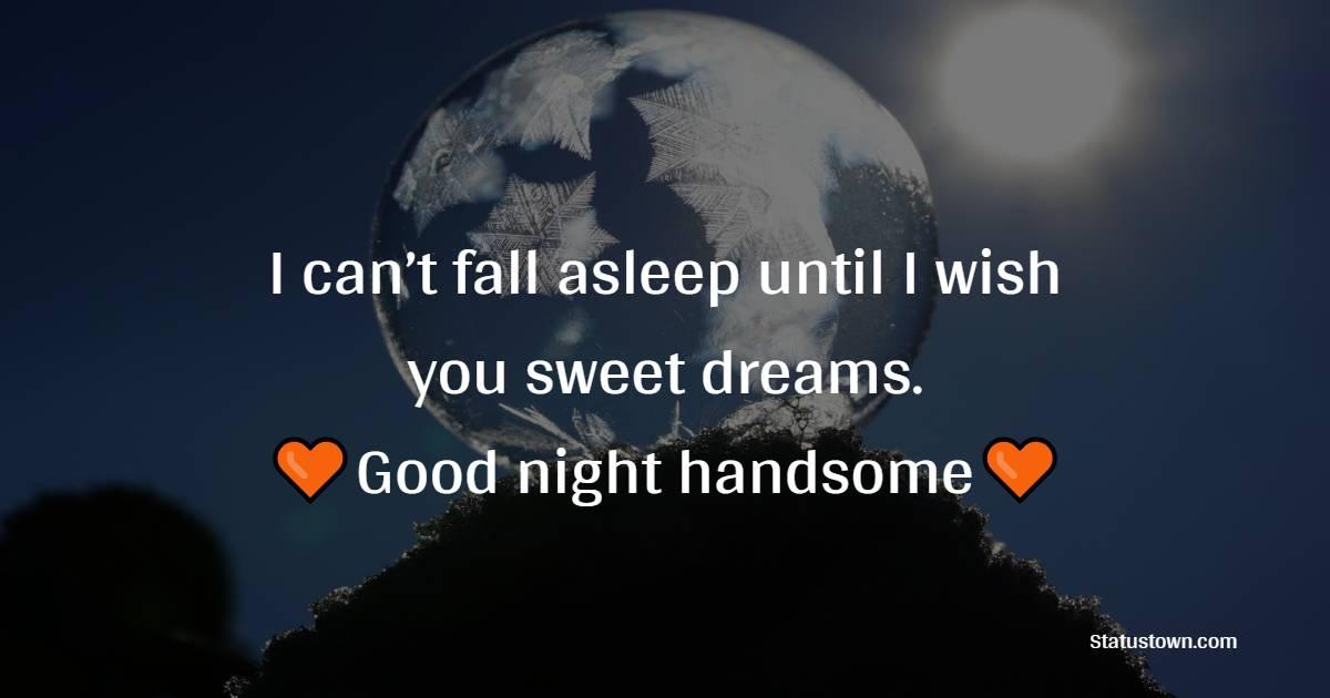 Deep good night love messages