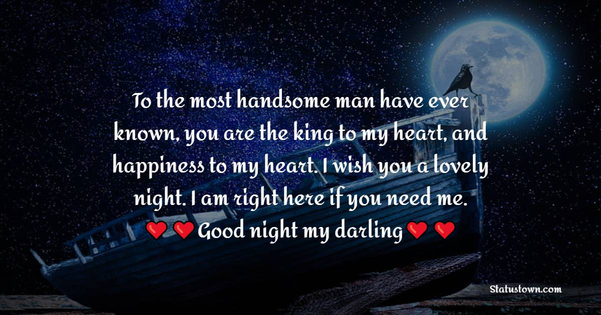 Touching good night love messages