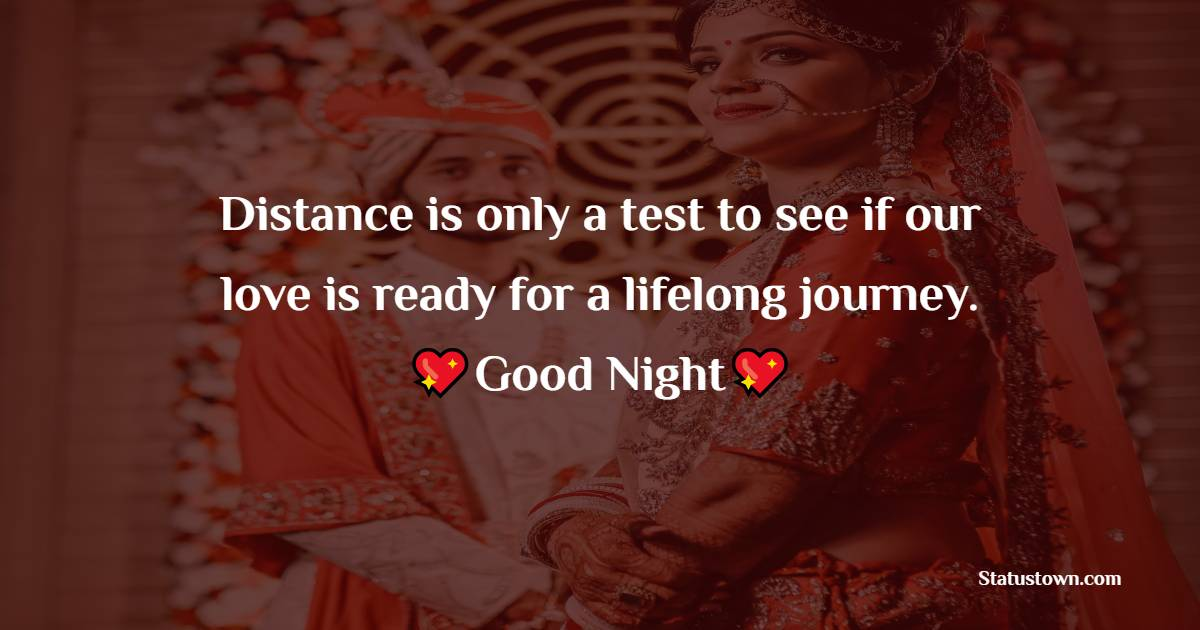 Simple good night love messages