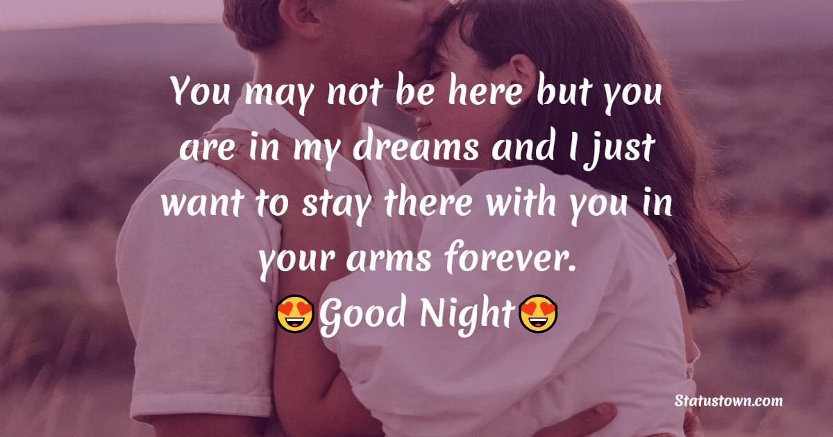 Short good night love messages