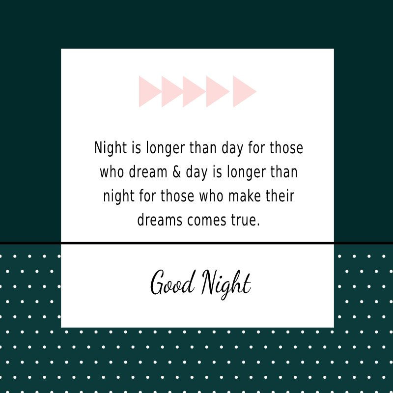 meaningful good night quotes