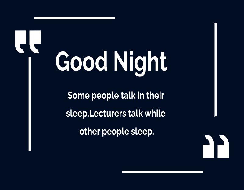 Amazing good night quotes