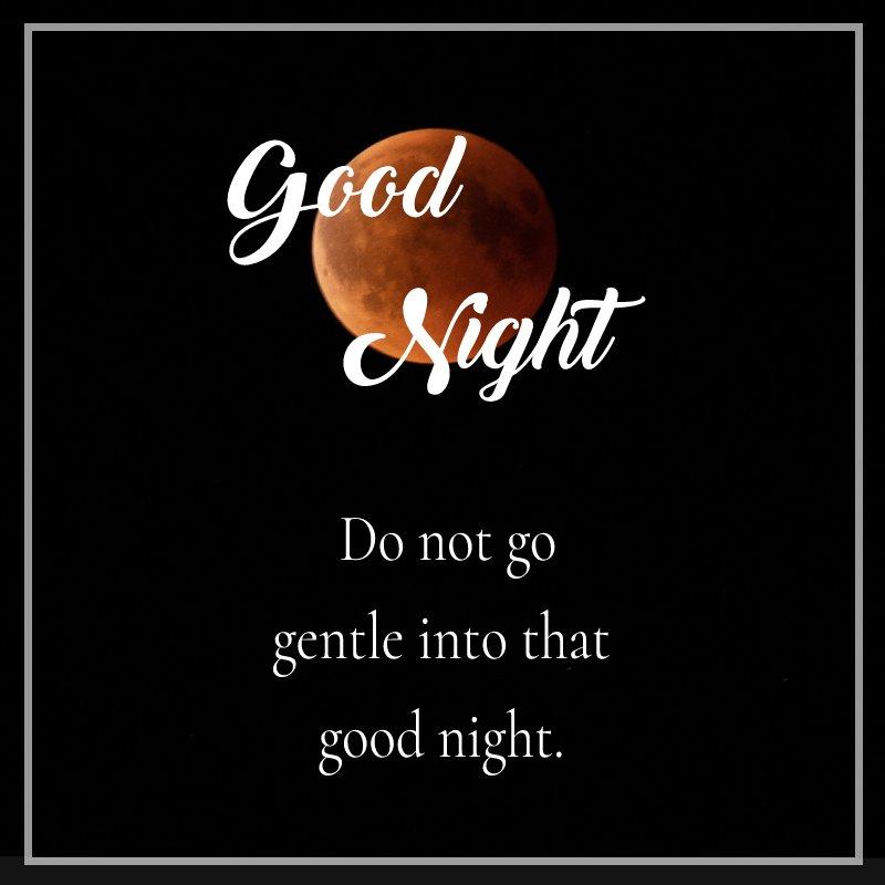 Simple good night quotes