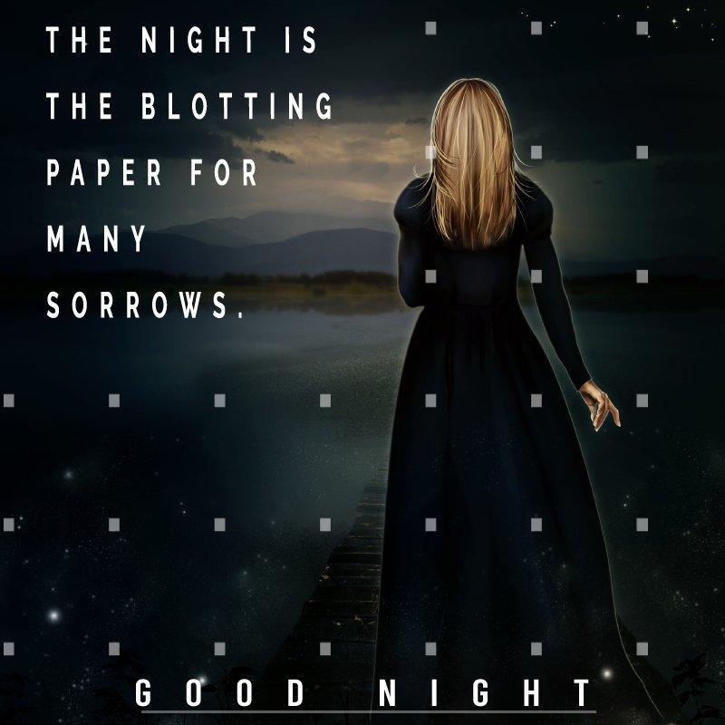 Deep good night status