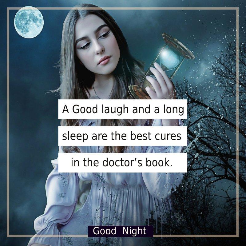 Best good night status
