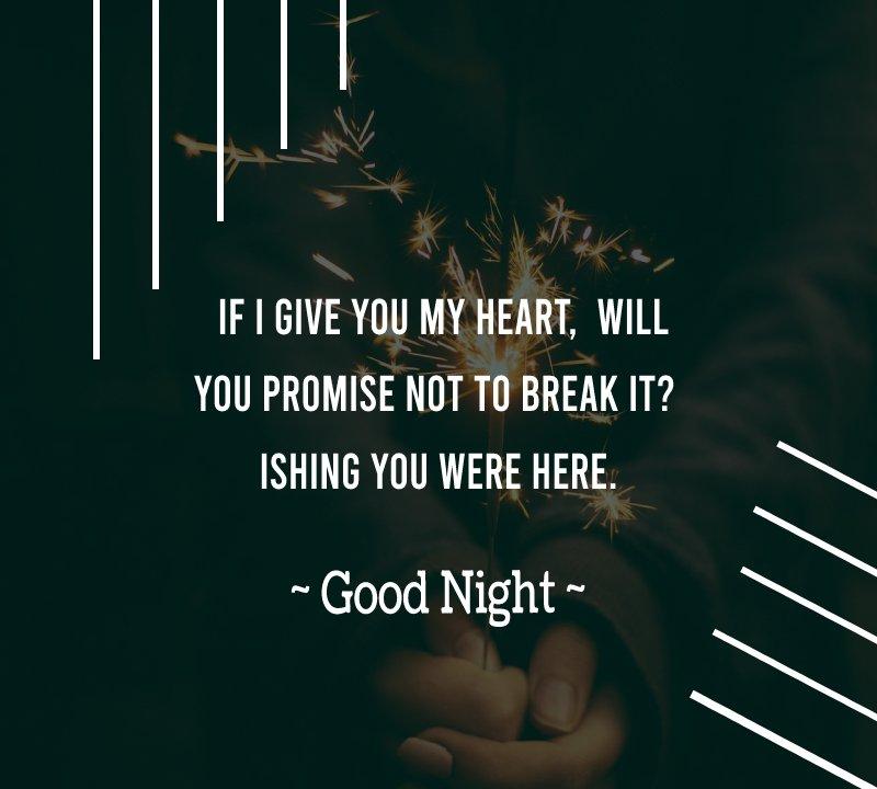 Simple good night status