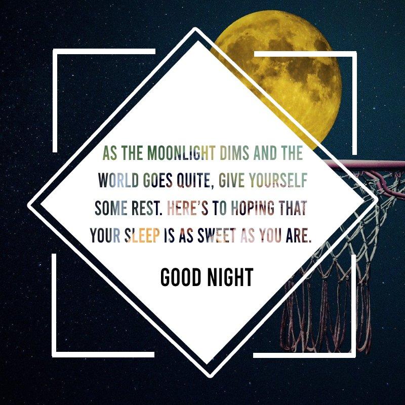 Short good night status