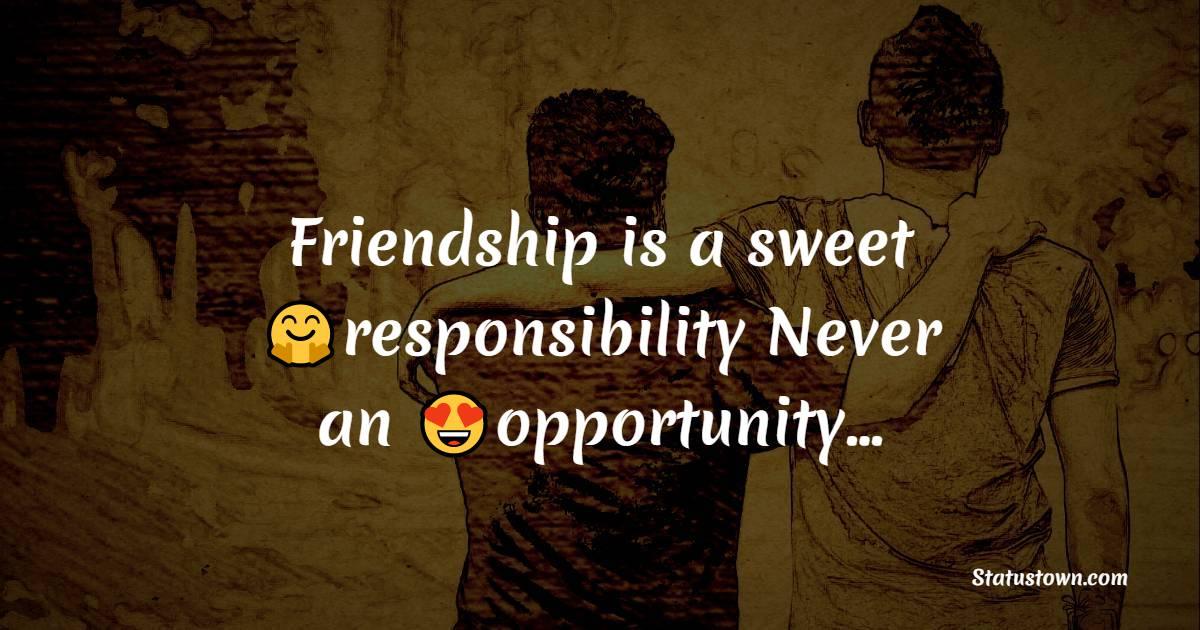 friends WhatsApp status