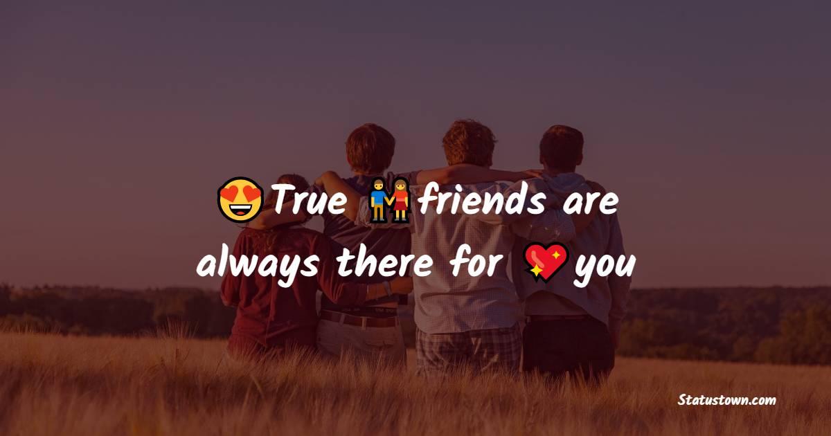 friends status photos