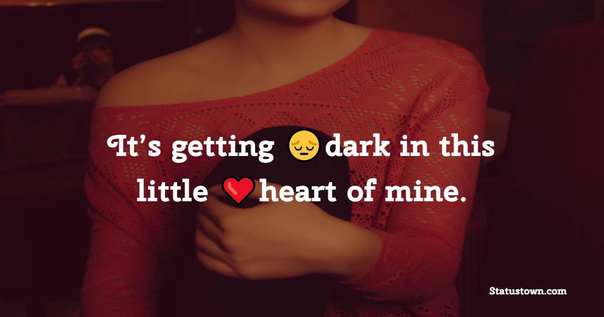 heart touching status