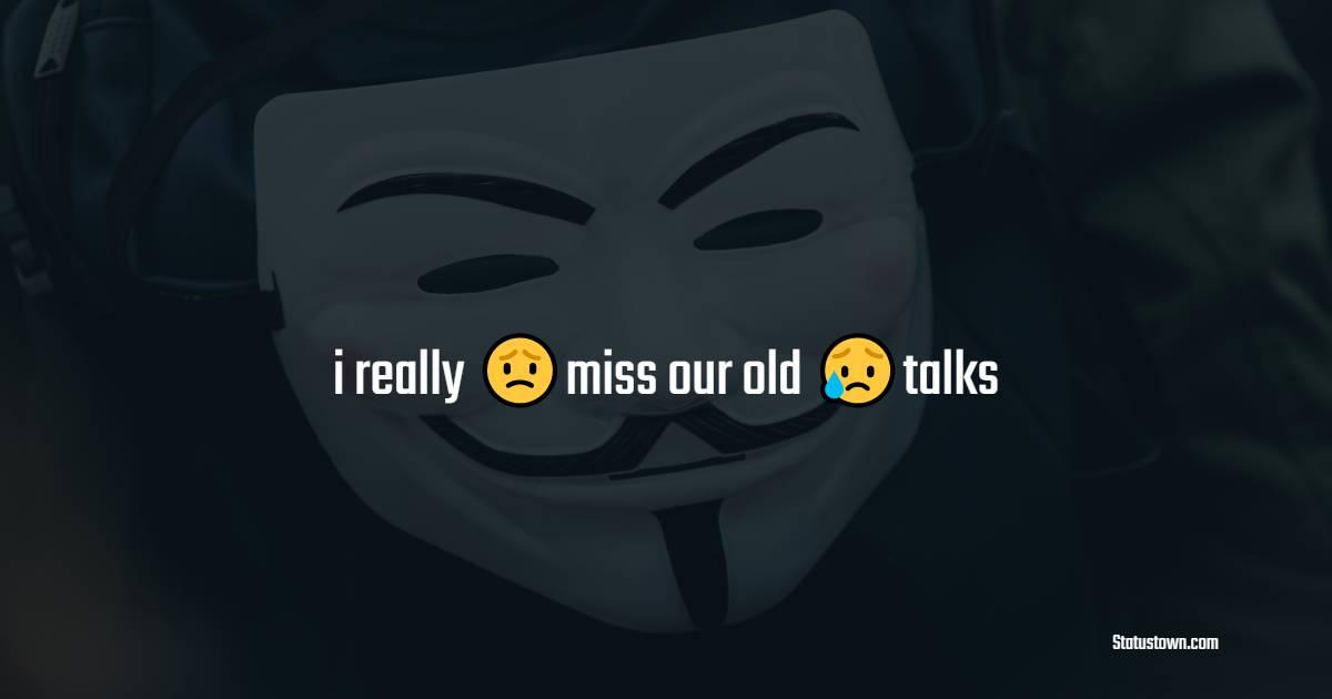 Unique miss you status