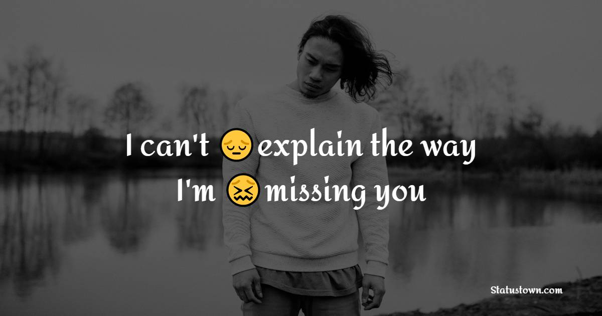 Simple miss you status