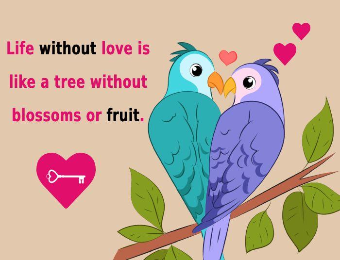 Simple short love status
