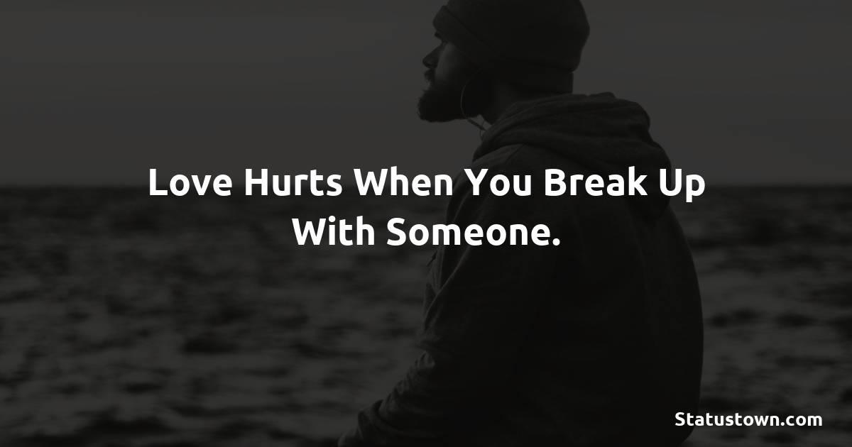 meaningful breakup status