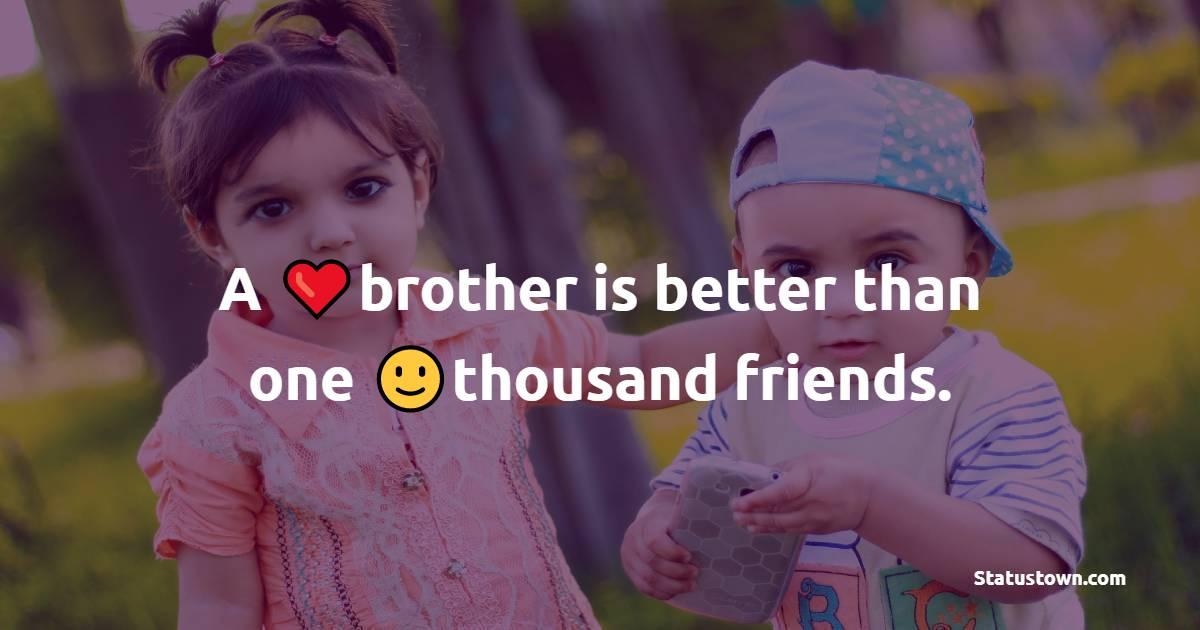 brother Shayari