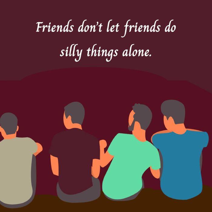 Unique friends status