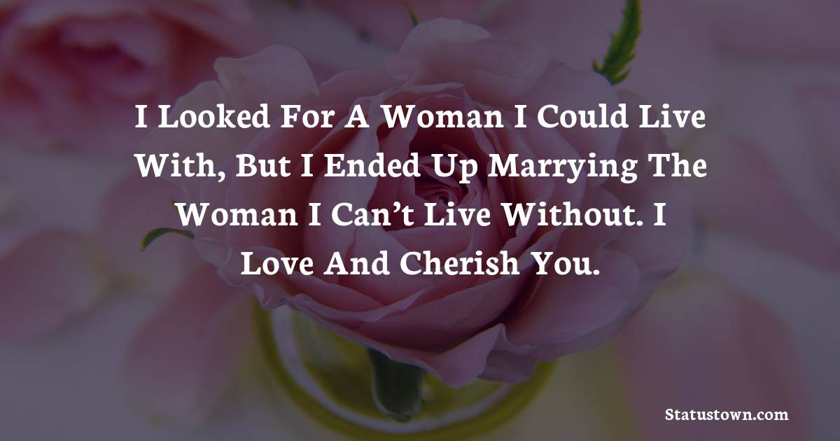 love status for wife