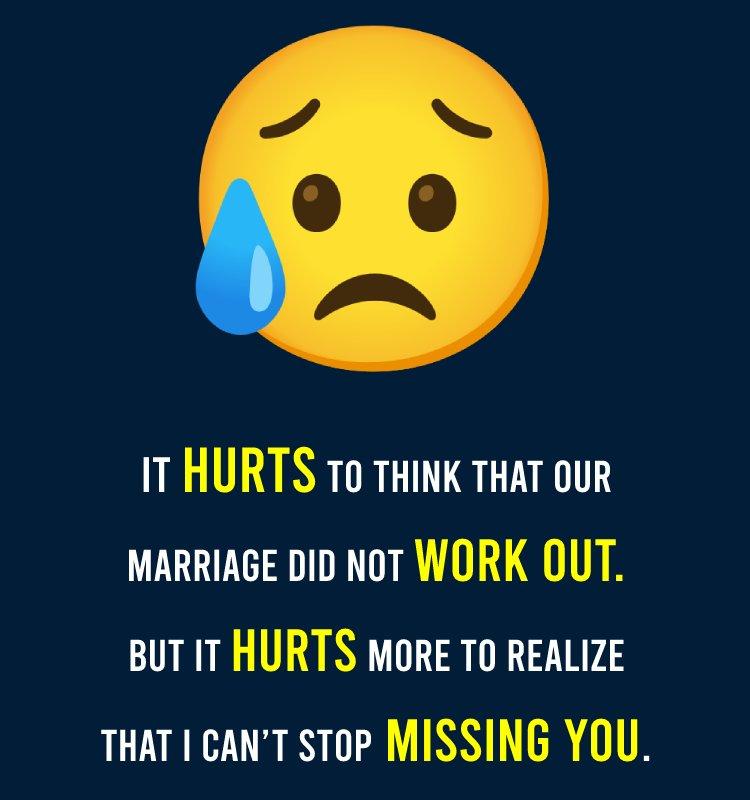 Simple sad status for wife
