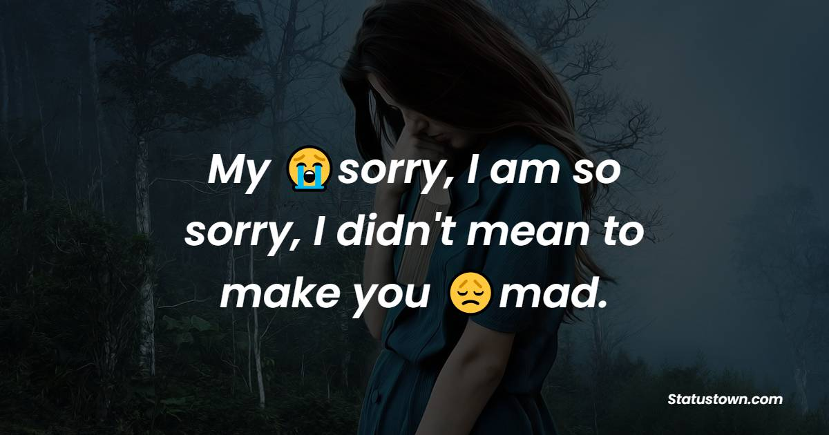 sorry status