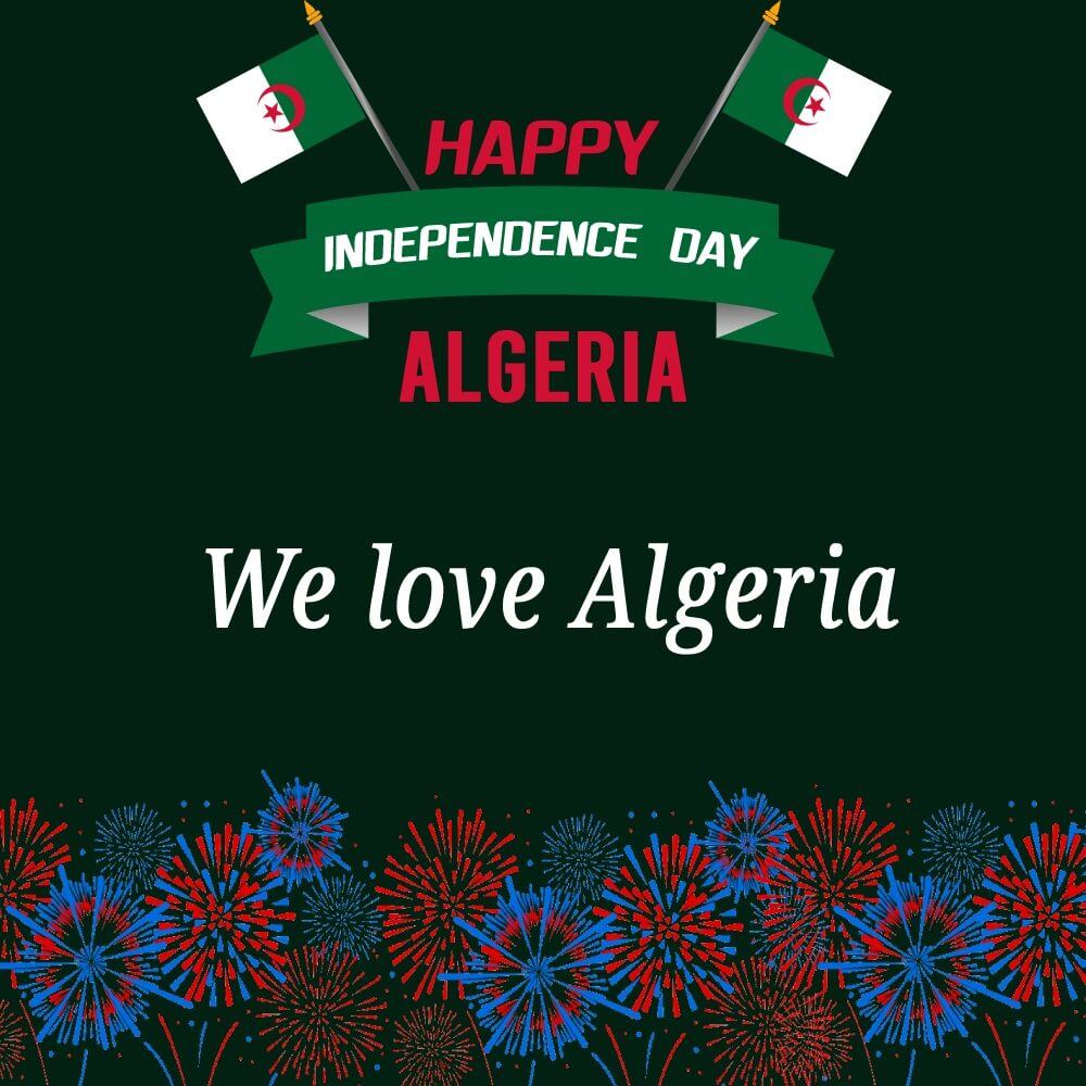 algeria independence day Greeting
