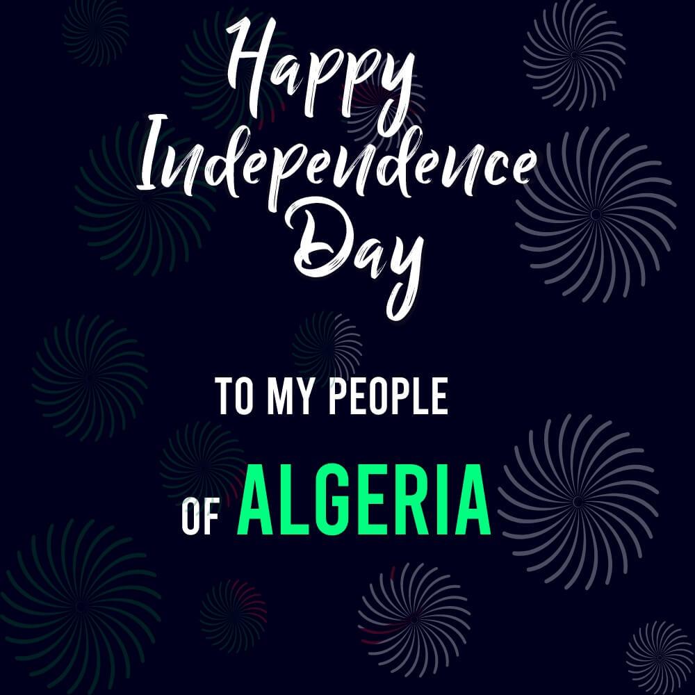 algeria independence day Status