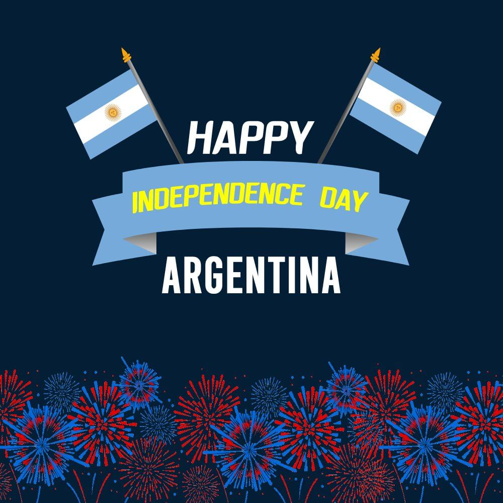 argentina independence day Greeting