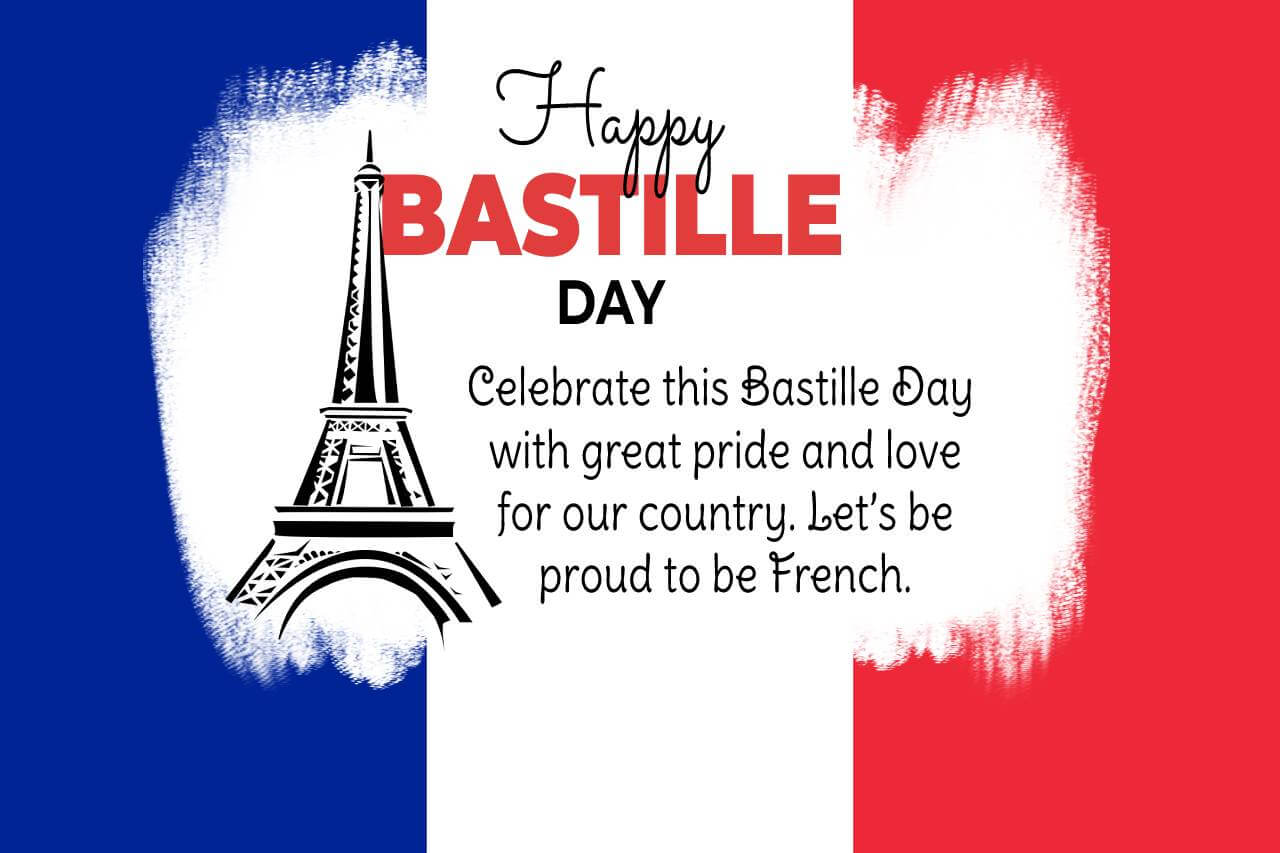 bastille day SMS