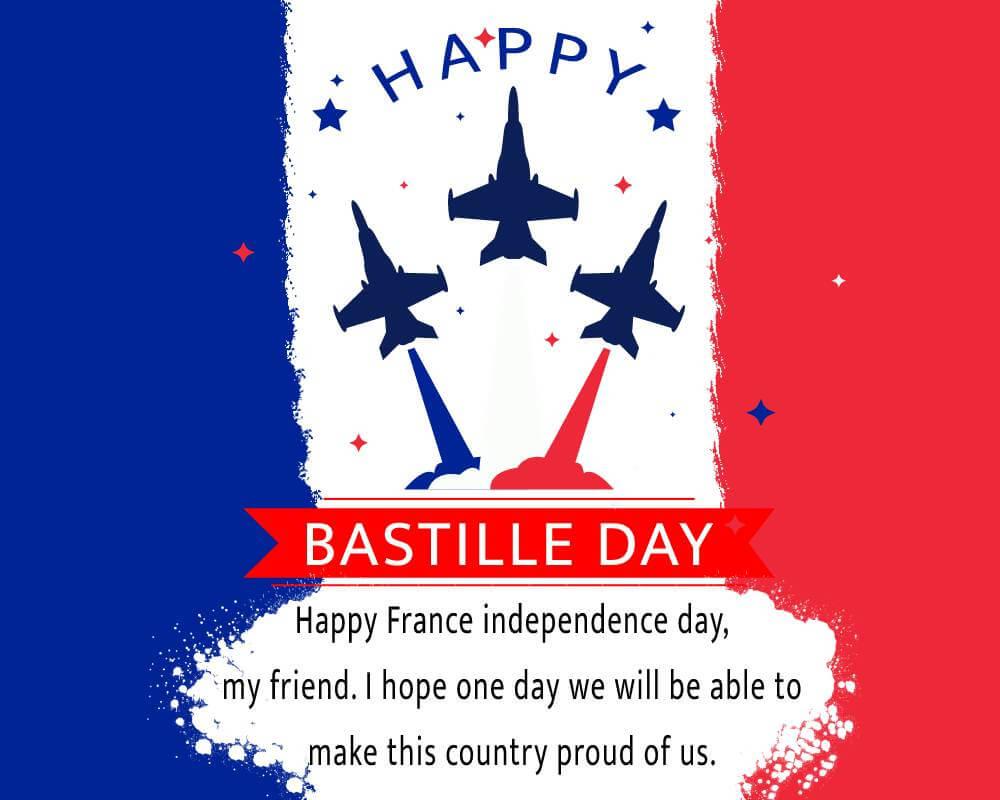 bastille day Text